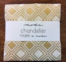 """Chandelier by Studio M for Moda  - fabric Charm Pack - 5"""" squares"""