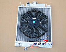 "40MM 2 core FOR Suzuki Swift GTI 1989-1994 Aluminium Radiator & 12"" fan"