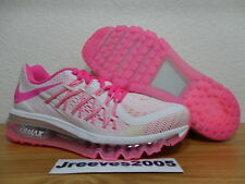 Nike Air Max 2015 (GS) 5.5y 100% Authentic PINK POW (705458 100) RETAIL $155!