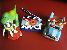 GUC Toy Story Woody & Jessie Blue Truck, Rex & Buzz Skateboard and Jessie Camera