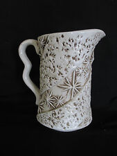 "Vintage Lightweight 6 1/23"" Cermic Glazed Pitcher, E 4212"