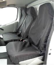 For Mercedes Sprinter & Vito Van Seat Covers Black heavy duty Single + Double
