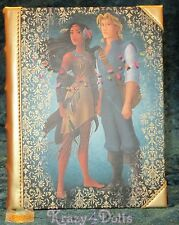 Disney Designer Fairytale Doll Collection 2, Pocahontas and John Journal LE NEW!