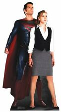 Superman and Lois Lane LIFESIZE CARDBOARD CUTOUT Standee Standup Man Of Steel