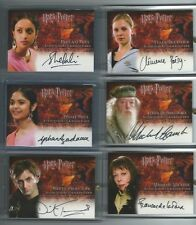 Harry Potter Goblet of Fire GOF Update AUTO autograph Choudhury Patil