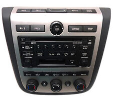 NISSAN Murano BOSE Sat Radio 6 Disc Changer Tape Cassette CD Player Navigation