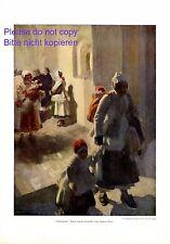 Christnacht XL Kunstdruck 1914 von Anders Zorn Weihnachten Schweden Familie