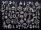 CLEAROUT 10-200 Mixed Tibetan Silver Charms Jewelry Wholesale Bulk 70 Designs