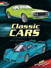 Classic Cars Coloring Book by LaFontaine, Bruce, Coloring Books