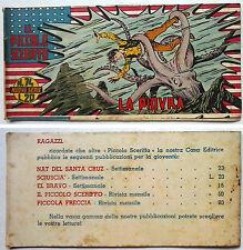 Striscia IL PICCOLO SCERIFFO IIª Serie N 74 TORELLI 1953