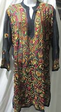 New design Chicken full embroidery  Georgette  top/kurta yoga tunic size 2XL46