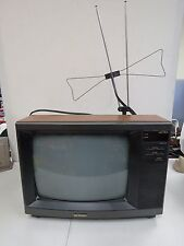 "Vintage Sharp Linytron 13RM59  13"" Faux Wood Color TV Television  1404H"