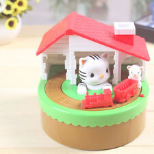 Stealing Coin Cat Mouse Kitty Penny Cent Piggy Bank Saving Box Money Box Kid