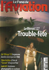 FANA DE L AVIATION N° 397 MIRAGE IV/ CORSAIR / LATE 631/ BLERIOT 127/ BOEING 707