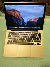 Apple RETINA Macbook Pro 2015 13in 16GB RAM, 256GB, low cycles