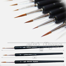 3pcs Weasel's Hair Paint Brush Hook Line Pen Drawing Stylus Pen Strokes Art