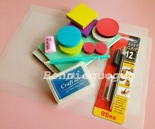 DIY Carve Rubber Stamp Tool Kit Rubber Carving Block/Carving Knife/Ink Pad etc.