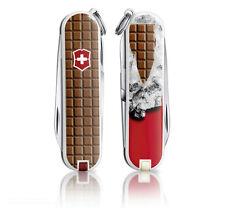 VICTORINOX Chocolate NEU Schweizer Schokolade Classic Taschenmesser mit Etui