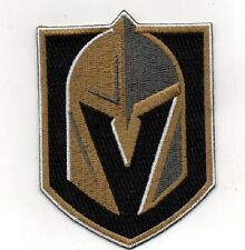 "NATIONAL HOCKEY LEAGUE LAS VEGAS GOLDEN KNIGHTS LARGE 10"" X 7"" TEAM STYLE PATCH"
