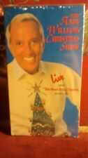 Andy Williams Christmas Show (VHS 1994 NEW SEALED Moon River Theater Branson Mo
