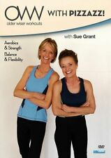 OLDER WISER WORKOUTS: WITH PIZZAZZ - DVD - Region Free