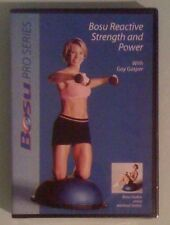 BOSU REACTIVE STRENGTH AND POWER with gay casper  DVD NEW