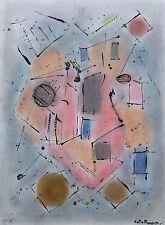 Joao Augustor dessin abstrait Chat en Chaleur p 1175