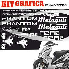 GRAFICA CARENA ADESIVI ADESIVO SCOOTER CARENE PHANTOM F12 R R STICKERS BIANCO