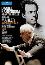 Daniel Barenboim conducts Mahler: Symphony No. 9, New DVDs