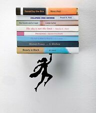 ARTORI Design Wondershelf Floating Female Super hero Girl Women Bookshelf Holder