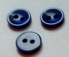 "PKG 0F 72 BUTTONS FOR BUTTON NECKLACE 3/8 "" NAVY BLUE"
