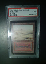 "Badlands *Alpha* PSA 7 Near Mint NM Magic MTG Graded Dual Land ""Duel"""