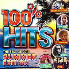 100% Hits-Best of 2012-Summer Edition-CD-Ed Sheeran-Nickelback-Veronicas-New