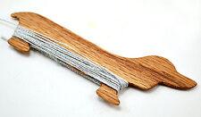 Handcrafted Red Oak Dachshund Wiener Dog Weaving Shuttle Inkle & Card Weaving...