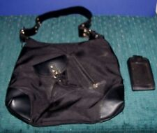 Women's Purse or Travel Bag & Small Black Cell Phone Case