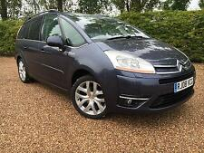 Citroen Grand C4 Picasso 2.0HDi 16v EGS Exclusive 7 seater 2008 08 plate