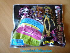 Bustina  piena MONSTER HIGH MONSTERRINGS Panini