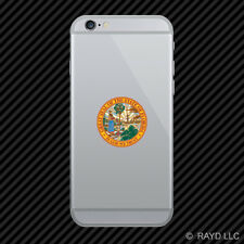 Florida State Seal Cell Phone Sticker Mobile Die Cut state southeastern sunshine