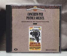 CONCERTO PER PISTOLA SOLISTA SOUNDTRACK FRANCESCO DE MASI CD NEAR MINT 1992 CAM
