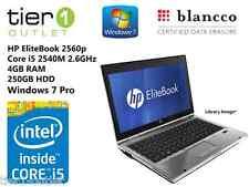 HP EliteBook 2560p Core i5 2540M 2.60GHz, 4GB, 320GB, Windows 7 Pro Laptop