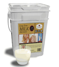 WISE Emergency Survival FOOD Long Term Milk Storage 120 Serving Bucket