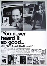 Vintage 1967 Henry Mancini RCA 8-Track Tapes Advert - Original Photo Print AD
