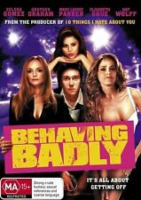 Behaving Badly DVD BRAND NEW SEALED NEW RELEASE Selena Gomez R4