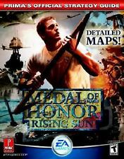 Medal of Honor: Rising Sun (Prima's Official Strategy Guide)-ExLibrary