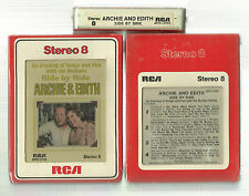 Archie And Edith, Side by Side, 1973 RCA/Victor, Sealed 8 Track Tape