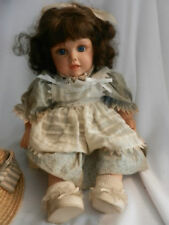 """RSH 129. Mary Ann Hard Plastic Doll, 3 yrs & Up, 20"""", Clothes"""