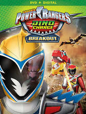 Power Rangers Dino Charge: Breakout (DVD, 2016)