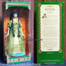 Platinum Faerie Queen Barbie Doll Legends of Ireland Brunette NRFB 500 Issued