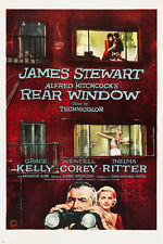 REAR WINDOW movie poster HITCHCOCK dir. james STEWART grace KELLY 24X36