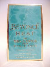 BEYONCE HEAT MRS CARTER SHOW WORLD TOUR LIMITED ED PERFUME WOMEN EDP 3.4OZ 100ML